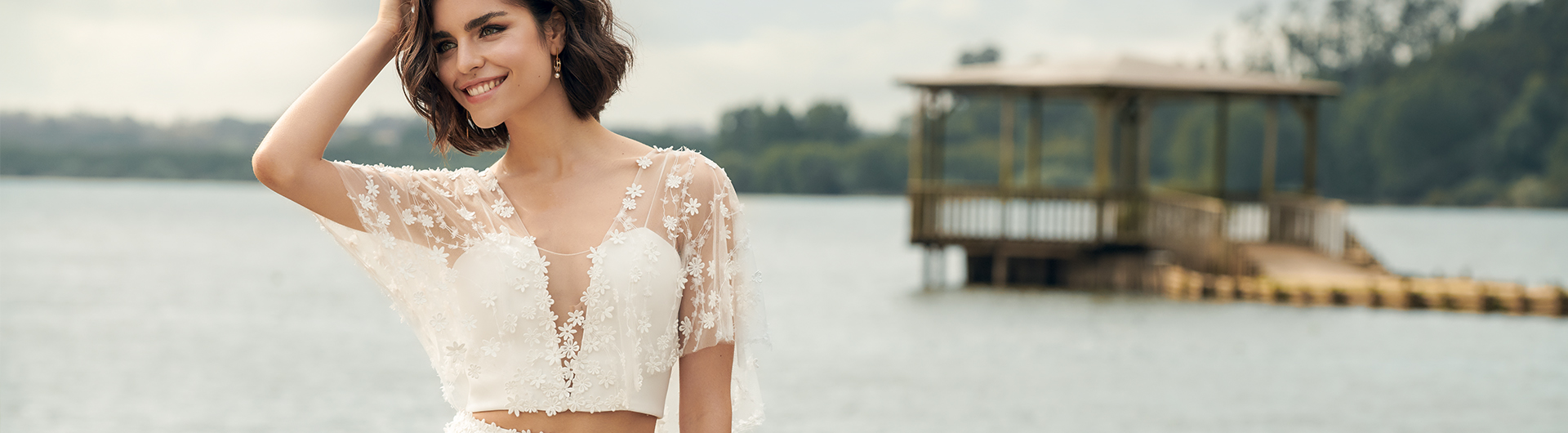 Renaux bridal dress - landscape